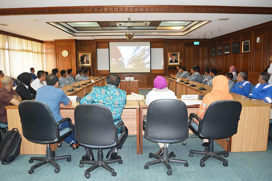 Pembukaan Pelatihan Bidang Las PT. Newmont Nusa Tenggara