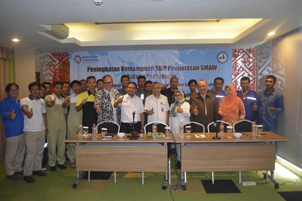 Pelatihan Bidang Pengelasan Kementerian Perindustrian