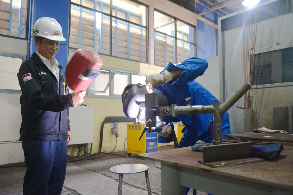 Pelatihan dan Sertifikasi Pengelasan PT PJB di PSUDIKLAT PAL Indonesia
